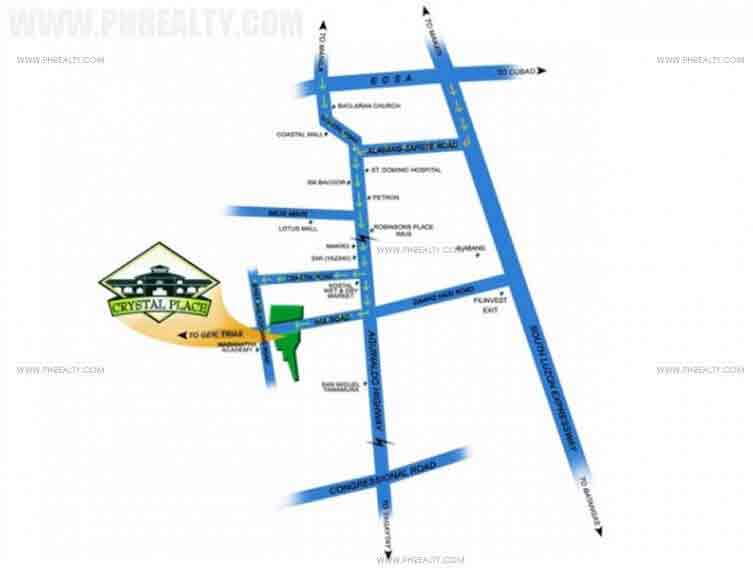 Crystal Place - Location and Vicinity