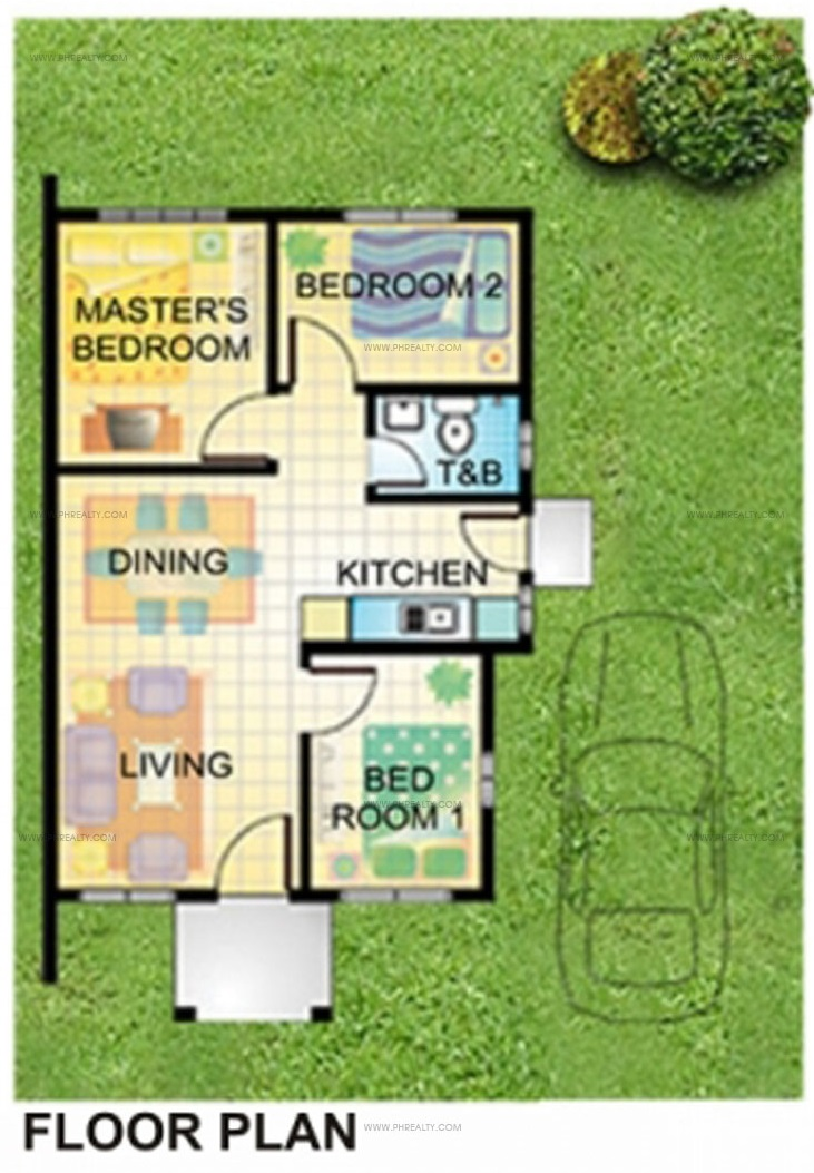 Crystal Place - Catarina Floor Plan