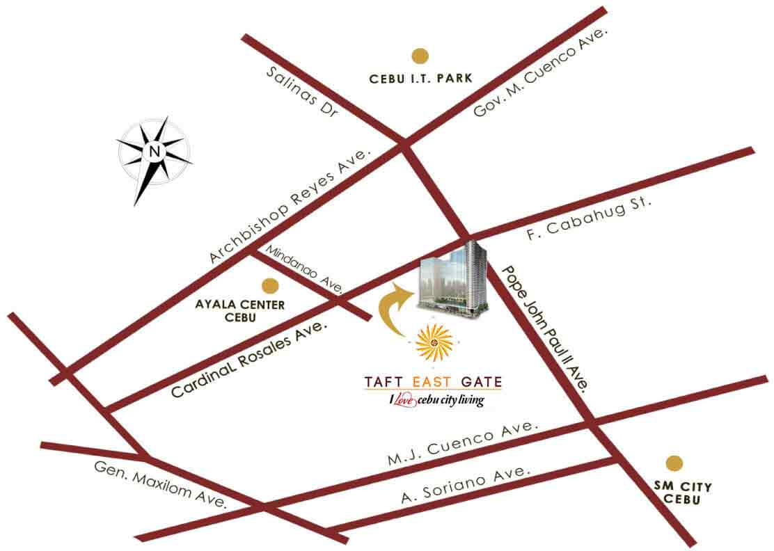Taft East Gate - Location & Vicinity