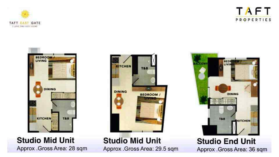 Taft East Gate - Studio Mid Unit