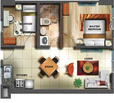 Soltana Nature Residences - 2 Bedroom Unit