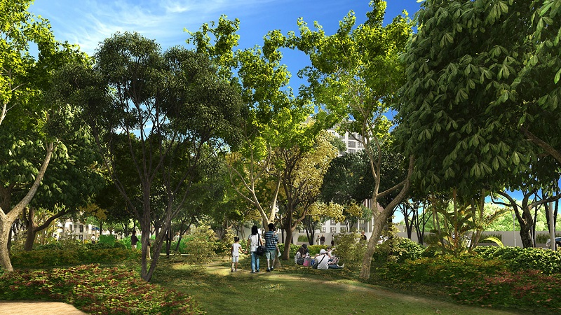 Soltana Nature Residences - Garden