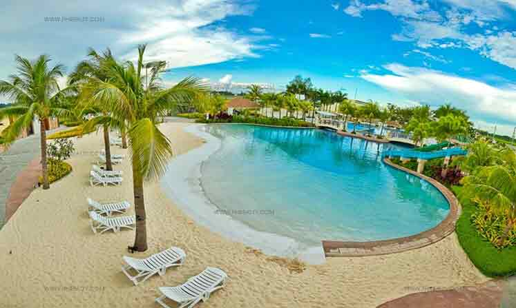 Antel grand village house lot in bacao ii general - Beach with swimming pool in cavite ...