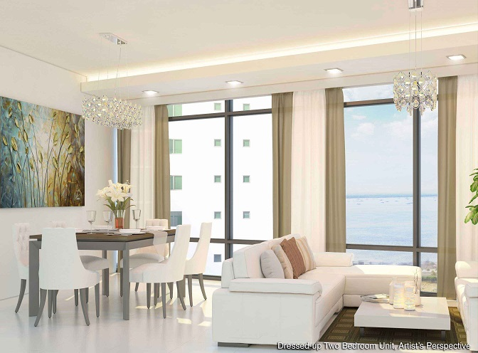 Shore 2 Residences - Dressed-up Two Bedroom Unit