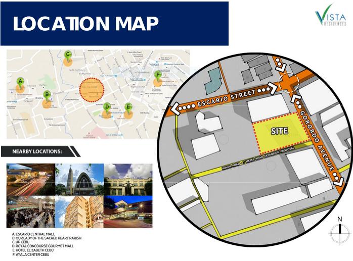 Vista Suarez Cebu - Location Map