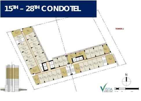 Vista Suarez Cebu - 15th - 28th Condotel