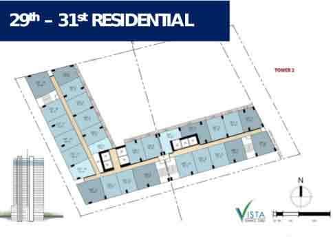 Vista Suarez Cebu - 29th - 31st Residential
