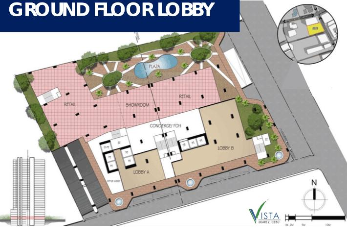 Vista Suarez Cebu - Ground Floor Lobby