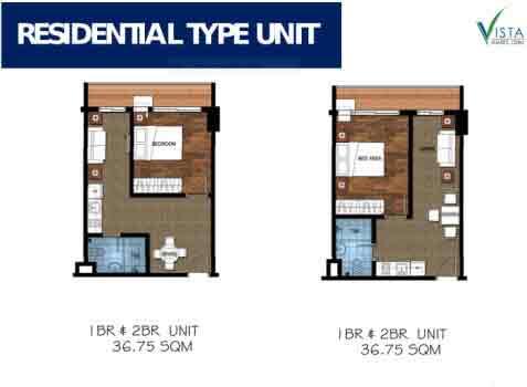 Vista Suarez Cebu - Residential Type Unit