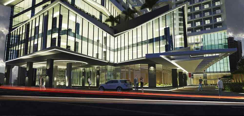 Vista Suarez Cebu - Building Facade