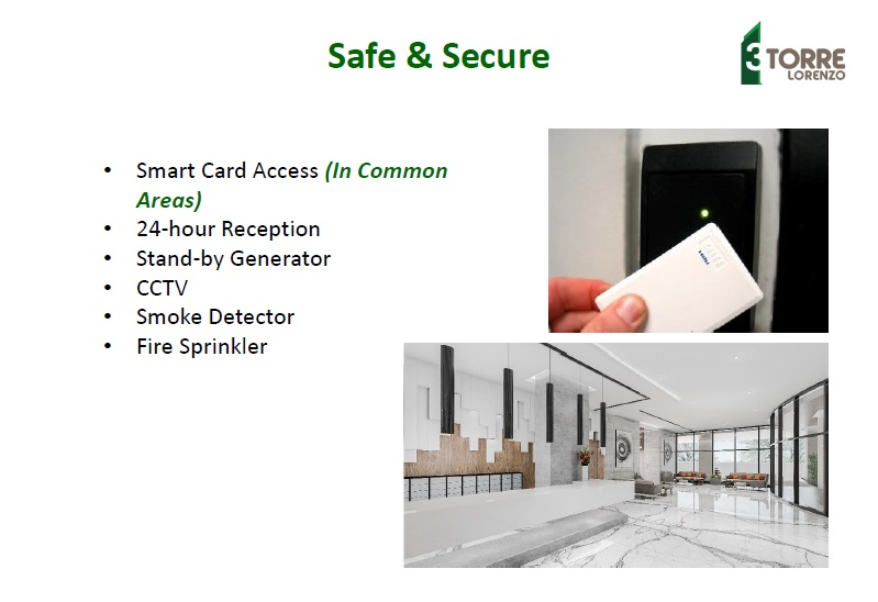 3 Torre Lorenzo  - Safe & Secure