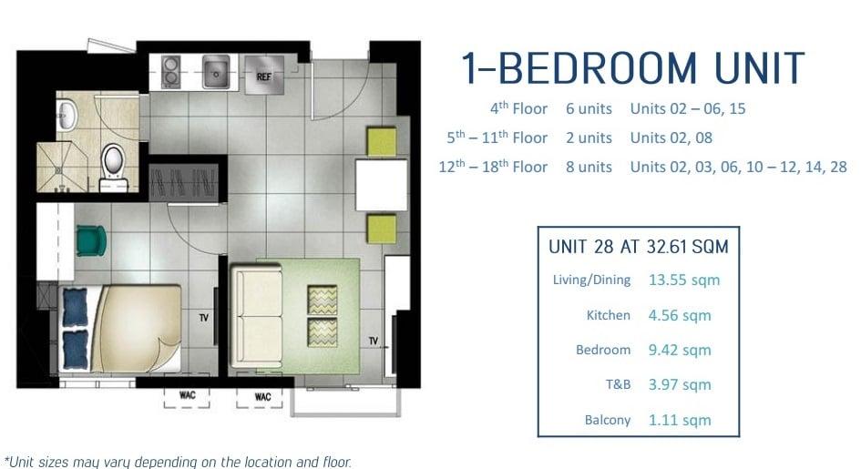 Southkey Place - 1 Bedroom Unit