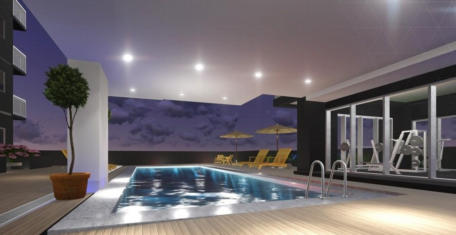 Southkey Place - Pool Area / Amenity Floor