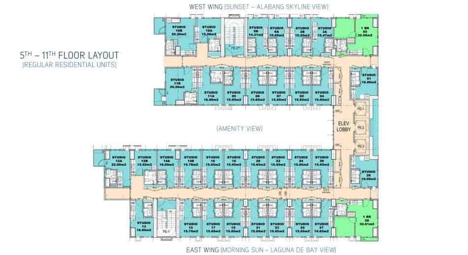 Southkey Place -  Regular Residential Units Regular Residential Units Regular Residential Units Regular Residential Units Site Development Plan Site Development Plan