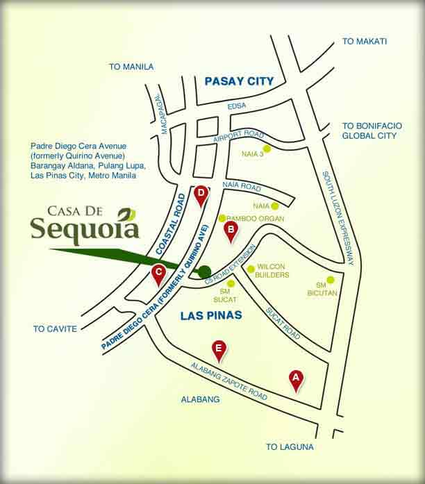 Casa De Sequoia - Location & Vicinity