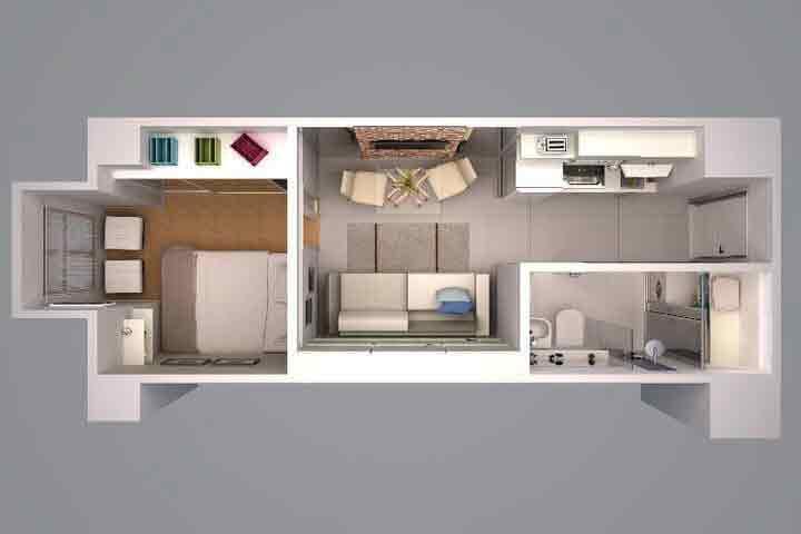Victoria De Manila 2 - 1 Bedroom Unit