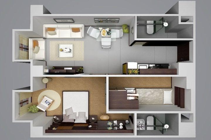 Victoria De Manila 2 - 2 Bedroom Unit