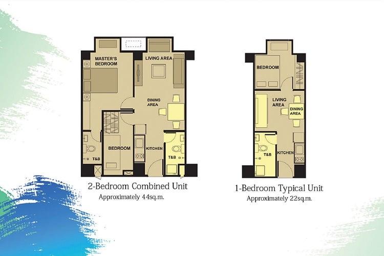 Victoria De Manila 2 - Typical Floor Plan Unit
