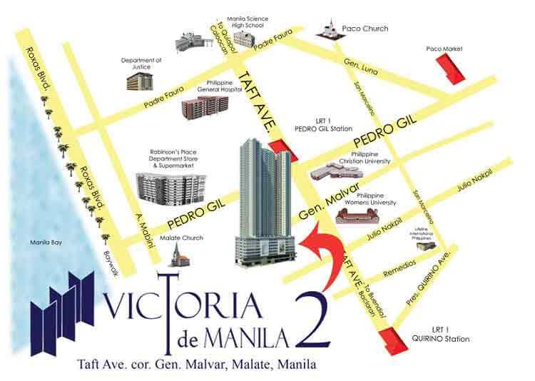 Victoria De Manila 2 - Location & Vicinity