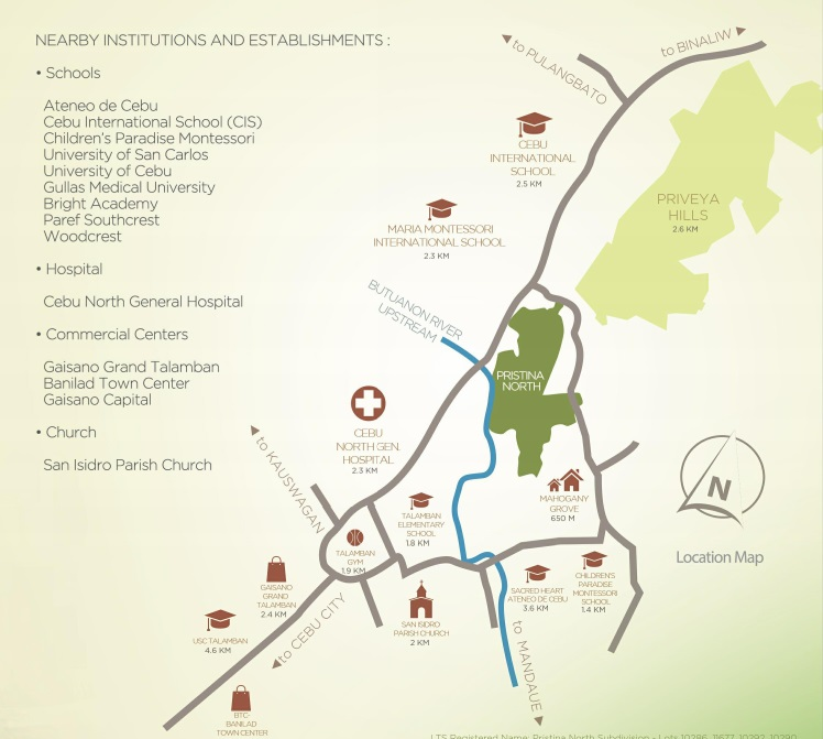 Pristina North Residences - Location & Vicinity