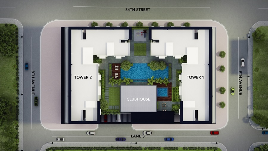 Avida Towers Turf BGC - Site Development Plan