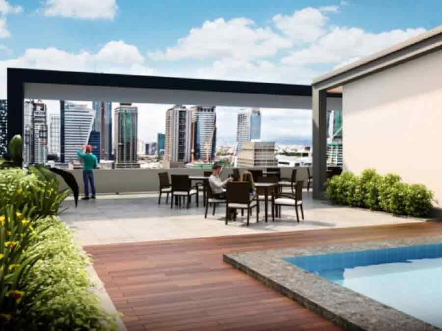 Avida Towers Turf BGC - Viewing Deck