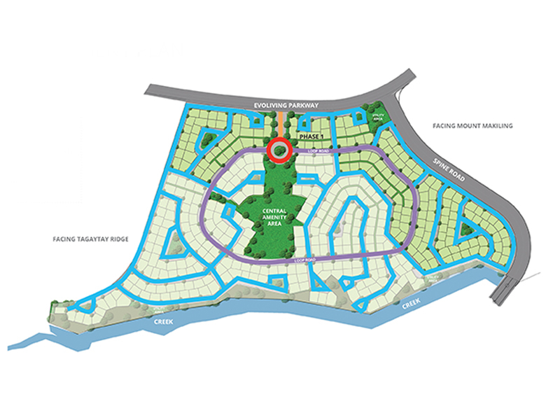 Hillcrest Estates Nuvali  -  Site Development Plan Site Development Plan