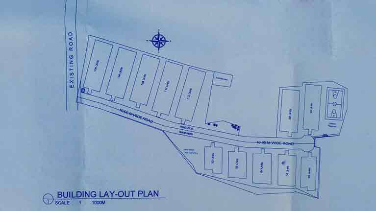 Urban Deca Homes Campville - Building Layout Plan