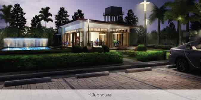 Almiya - Clubhouse Night View