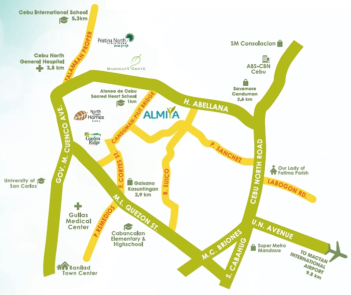 Almiya - Location & Vicinity