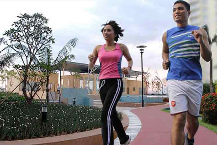 Milan Residenze Fairview - Jogging Paths