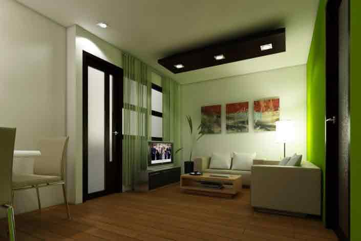 Milan Residenze Fairview - Living Area