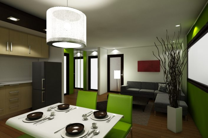 Milan Residenze Fairview - Dining Area