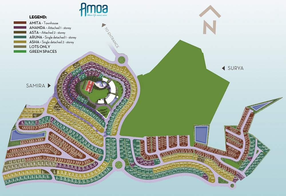 Amoa Cebu - Site Development Plan