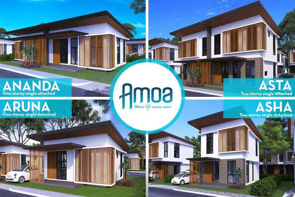 Amoa Cebu - Amoa Cebu- Model Houses