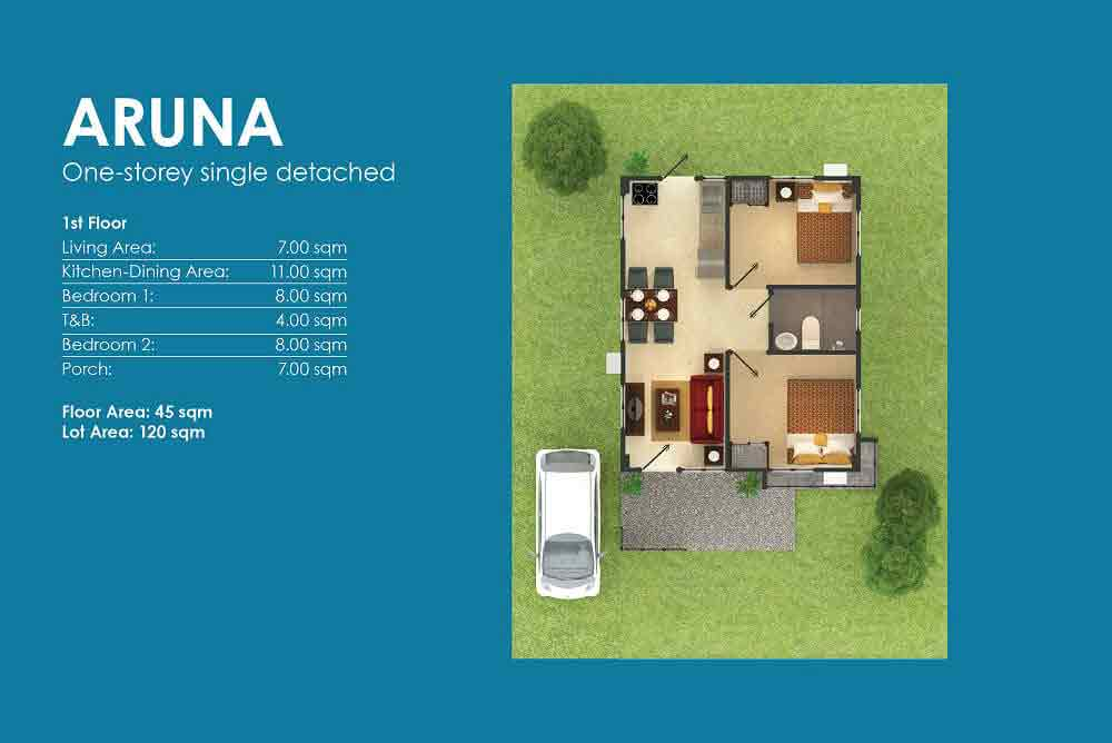 Amoa Cebu - Aruna Layout
