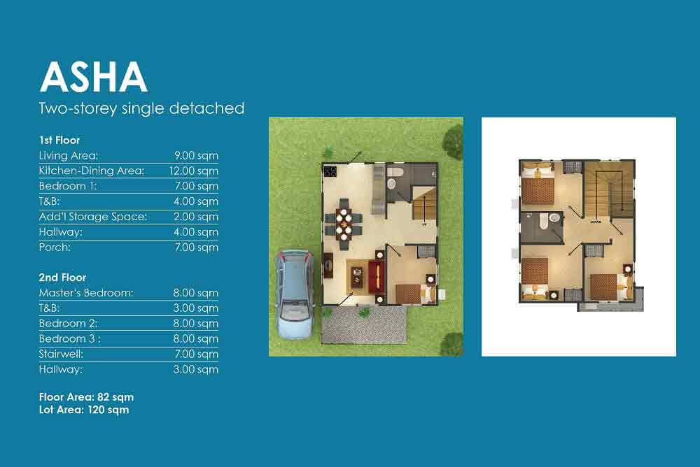 Amoa Cebu - Asha Layout
