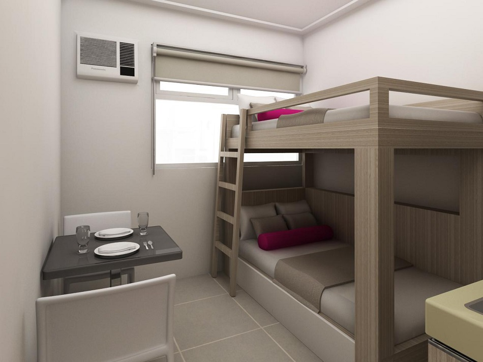 Urban Deca Towers EDSA - Bunk Bed
