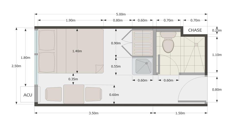 Urban Deca Towers EDSA - Unit Plan