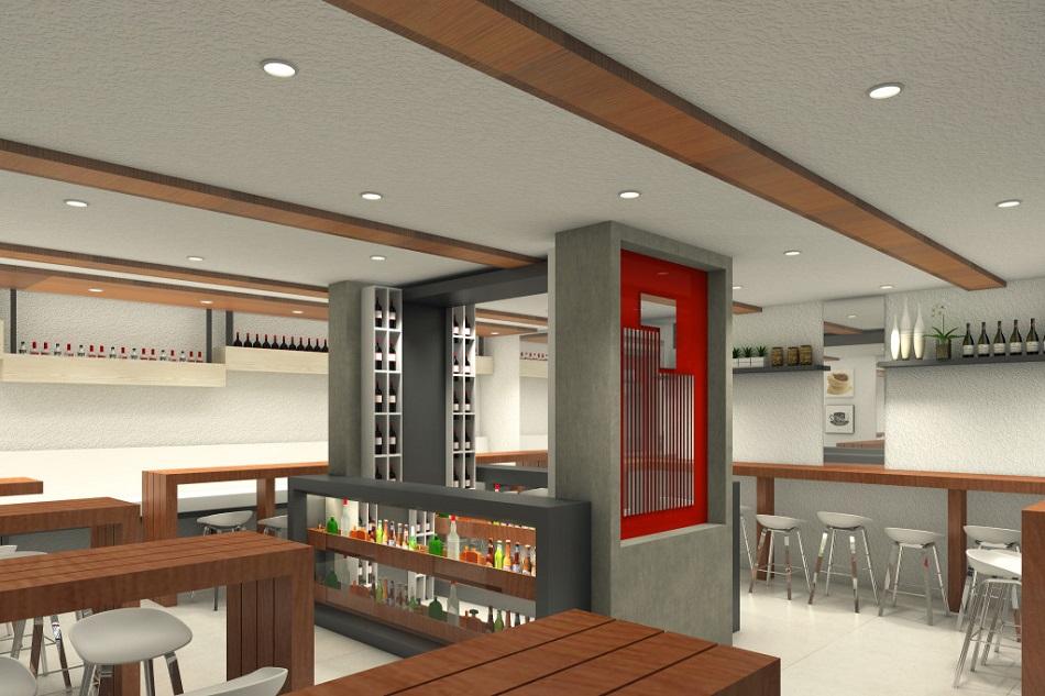 Urban Deca Towers EDSA - Pantry and Bar Area