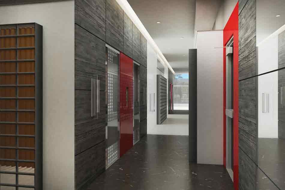 Urban Deca Towers EDSA - Elevator Lobby