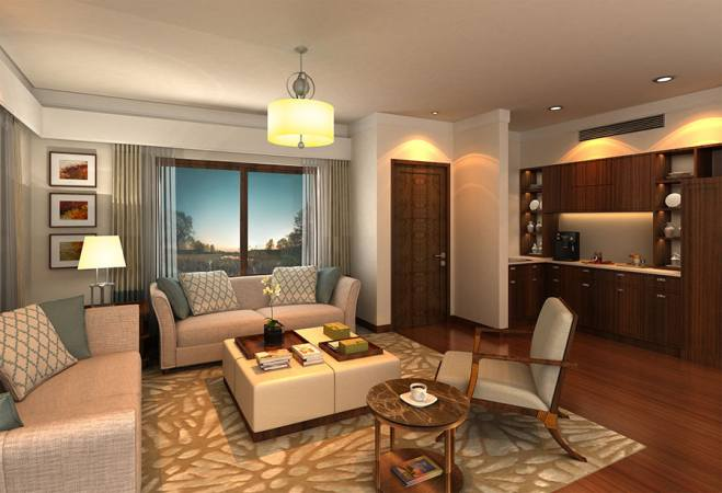 Anya Resort And Residences - Living Room