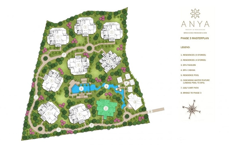 Anya Resort And Residences - Site Development Plan