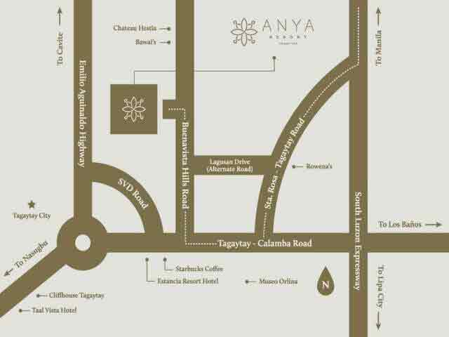 Anya Resort And Residences - Location & Vicinity