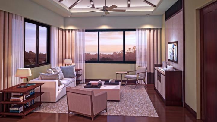 Anya Resort And Residences - Living Room