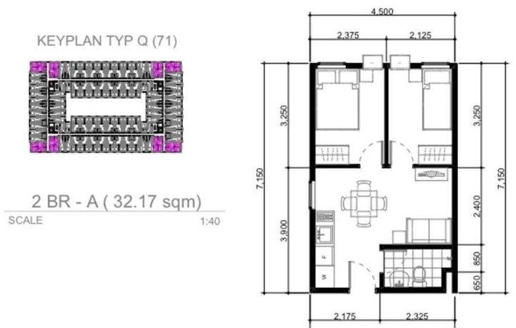 Arezzo Place - 2 Bedroom Unit
