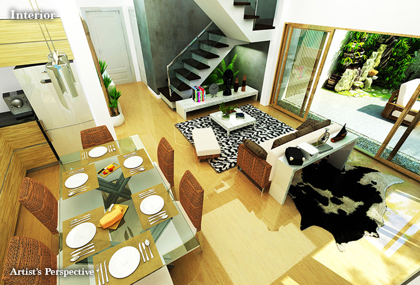 Seafront Residences - Living Room