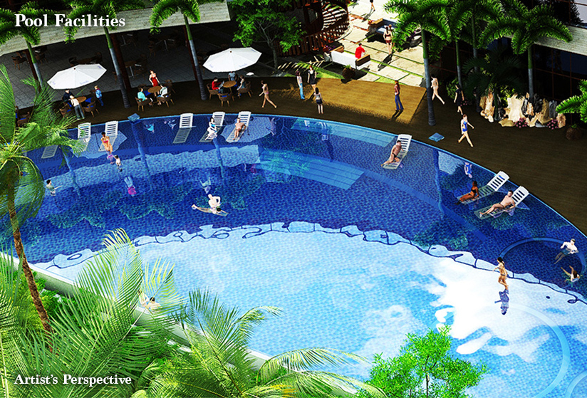 Seafront Residences - Pool Facilities
