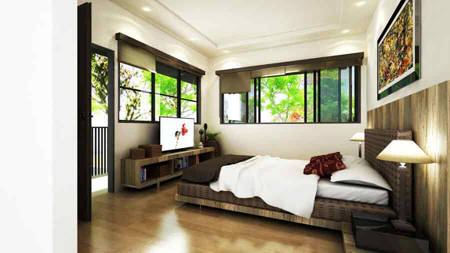 Seafront Residences - Master Bedroom