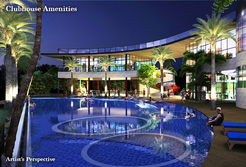 Seafront Residences - Clubhouse Amenities